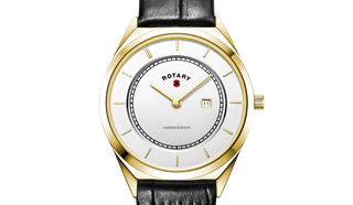 Rotary watch limited edition for Royal British Legion