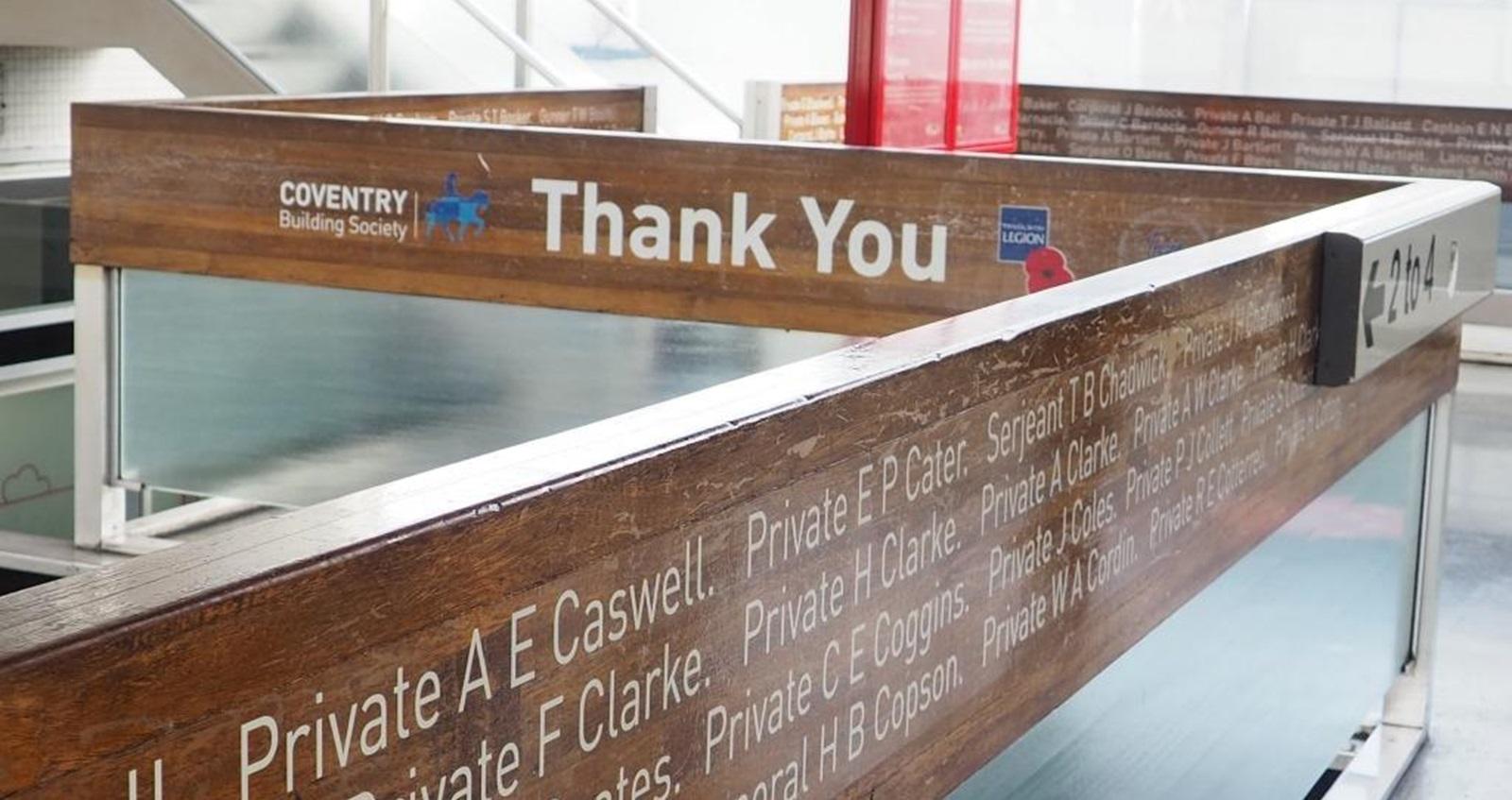 Coventry Building Society partnership – Inside the Coventy Building Society building