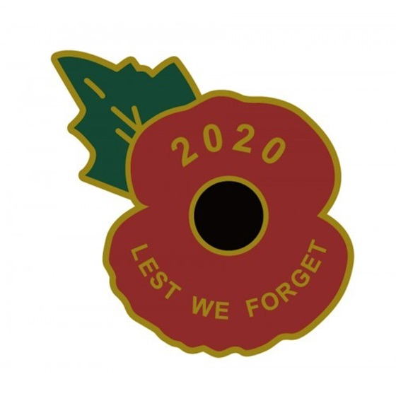 2019 Lest we forget self-adhesive poppy