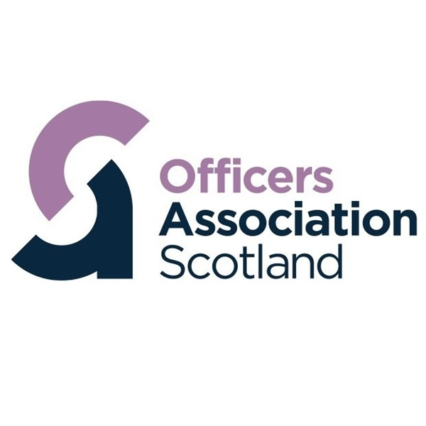 Officers Association Scotland logo