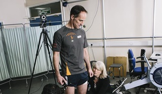 Research taking place at the Centre for Blast Injury Studies