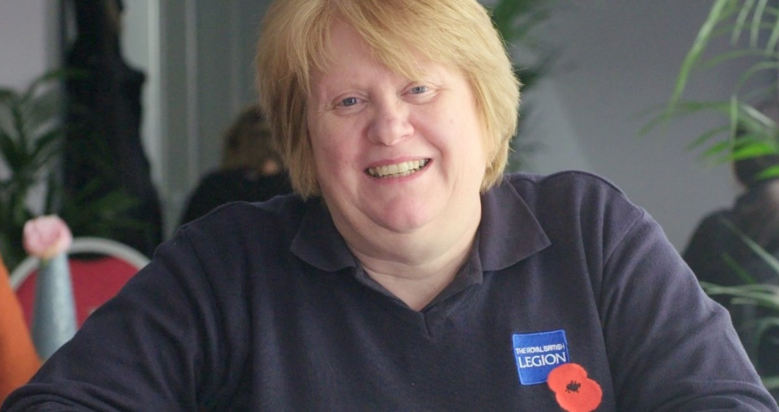 Royal British Legion advice and information team