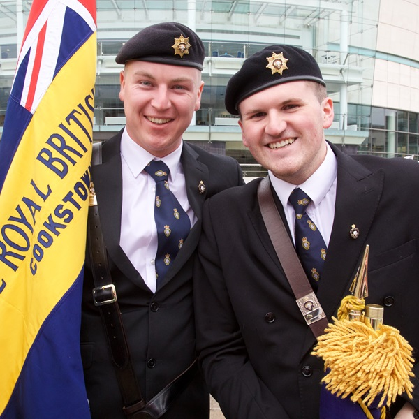 Branch Standard Bearers at Annual Conference