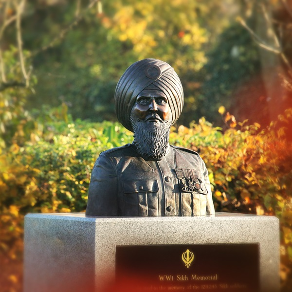The Sikh Memorial at the National Memorial Arboretum