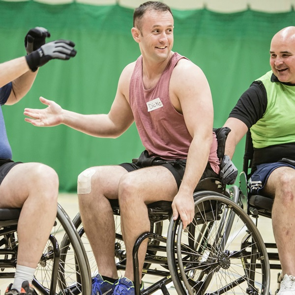 Royal British Legion wheelchair basketball