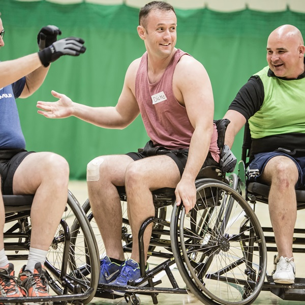 Royal British Legion wheelchair basketball