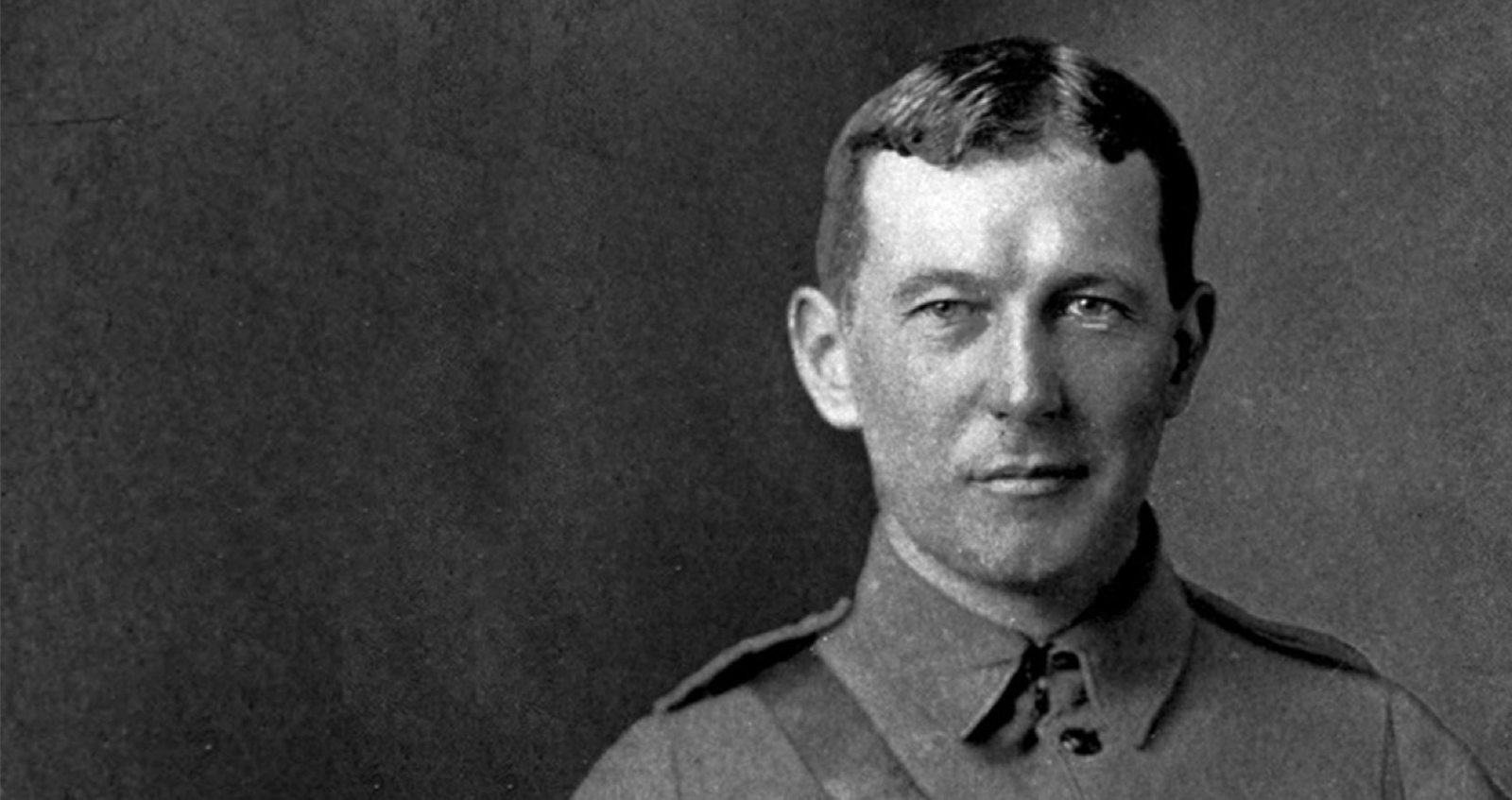 In Flanders Field author John McCrae
