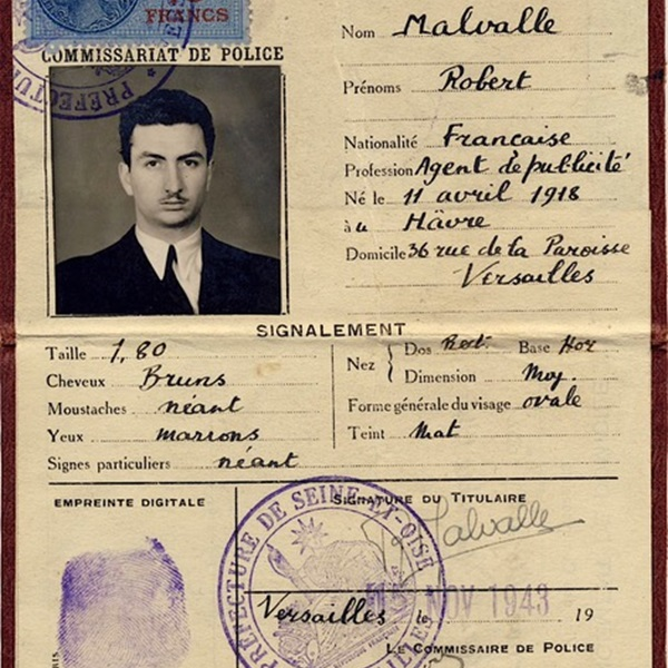 Bob Maloubier's fake ID