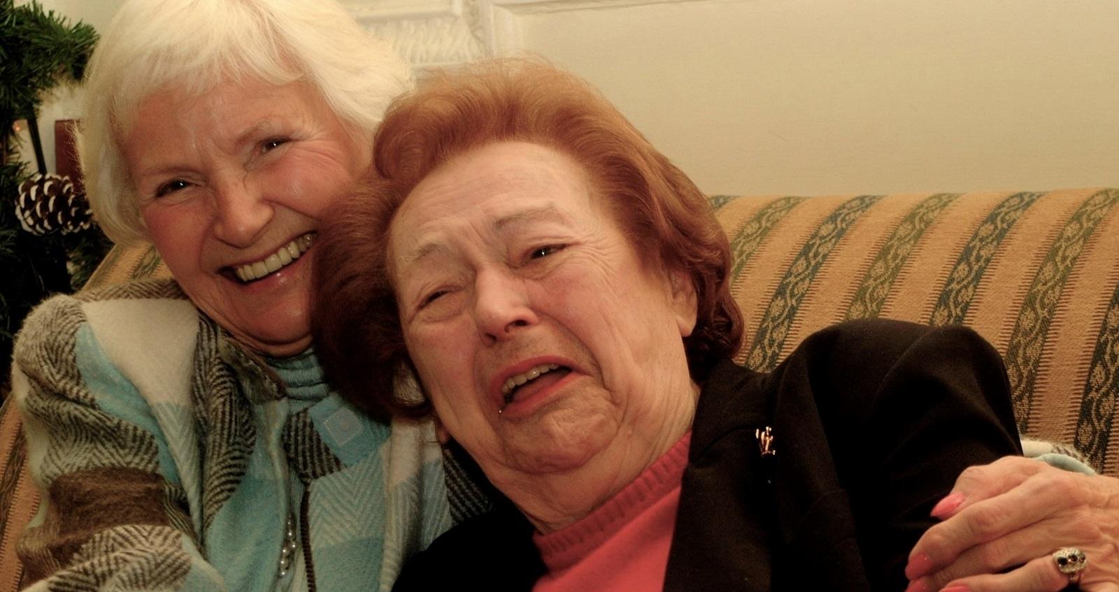 Nancy and Sonia reunited