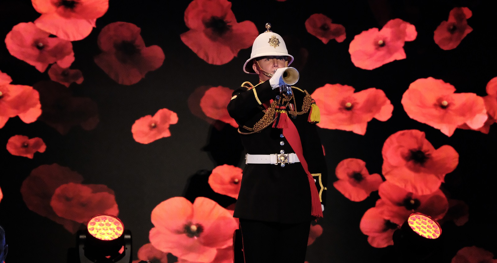 Festival of Remembrance 2018 trumpeter