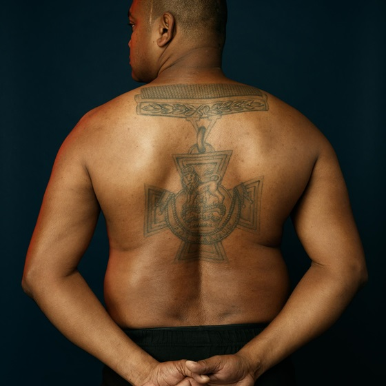 Johnson Beharry Victoria Cross tattoo