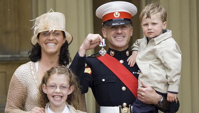 Matt at Buckingham Palace