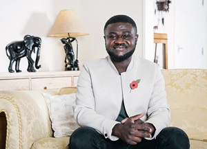 Volunteer Ben Poku