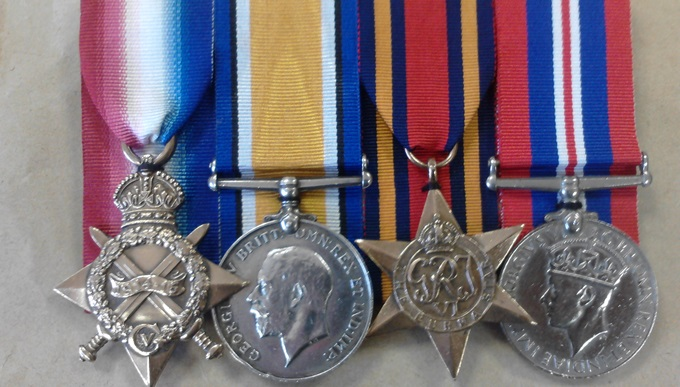 Liam's medals