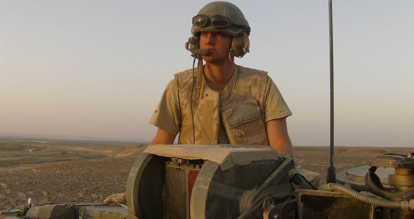LIAM YOUNG IN Afghan 2007