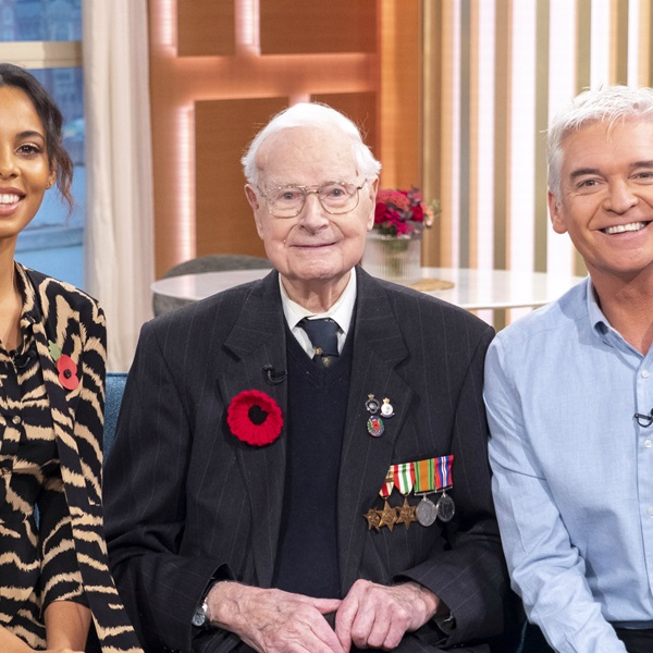 Walter Randall is the Legion's oldest Poppy Appeal collector