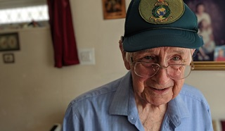 D-Day veteran Jack Smith
