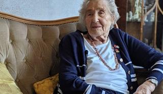 D-Day veteran June Denby