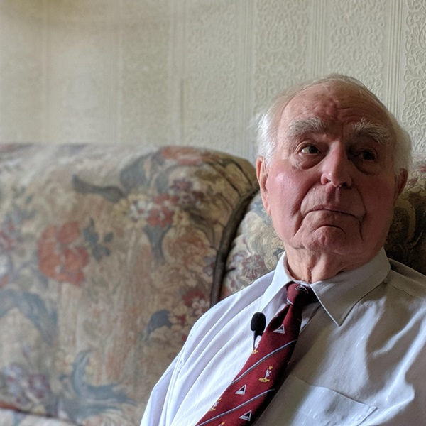 D-Day veteran Norman Penny