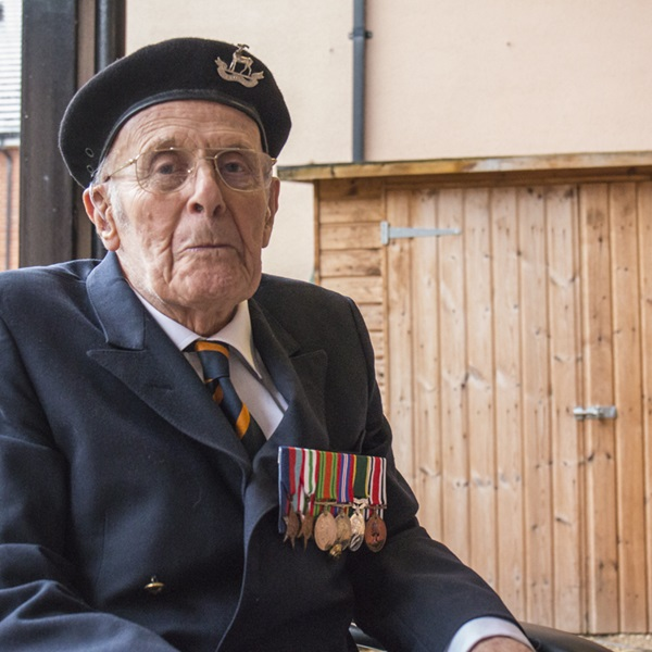 Dunkirk veteran Harry Leigh-Dugmore