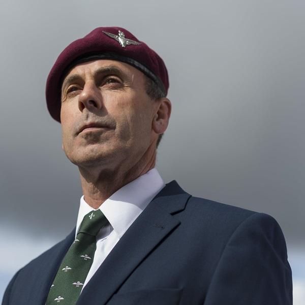 Falklands veteran Trevor Bradshaw