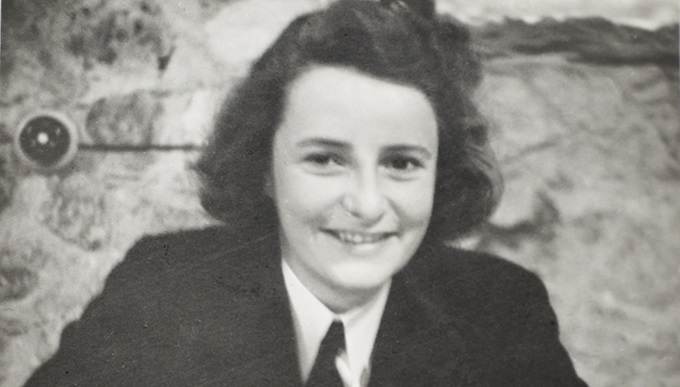 Jane Eldridge in her days as a Cypher Officer