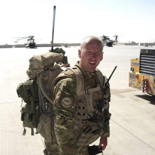 Duane Gardner in uniform