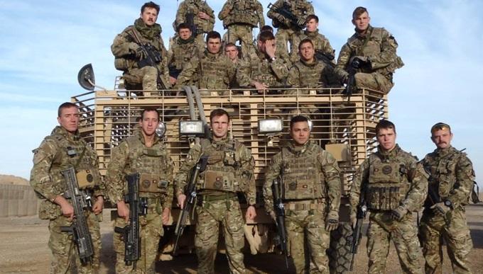 Joe on tour in Afghanistan