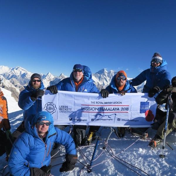 Mission Himalaya team reach Mera Peak