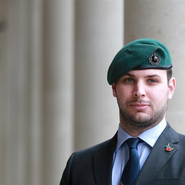Former Marine Nick Fleming
