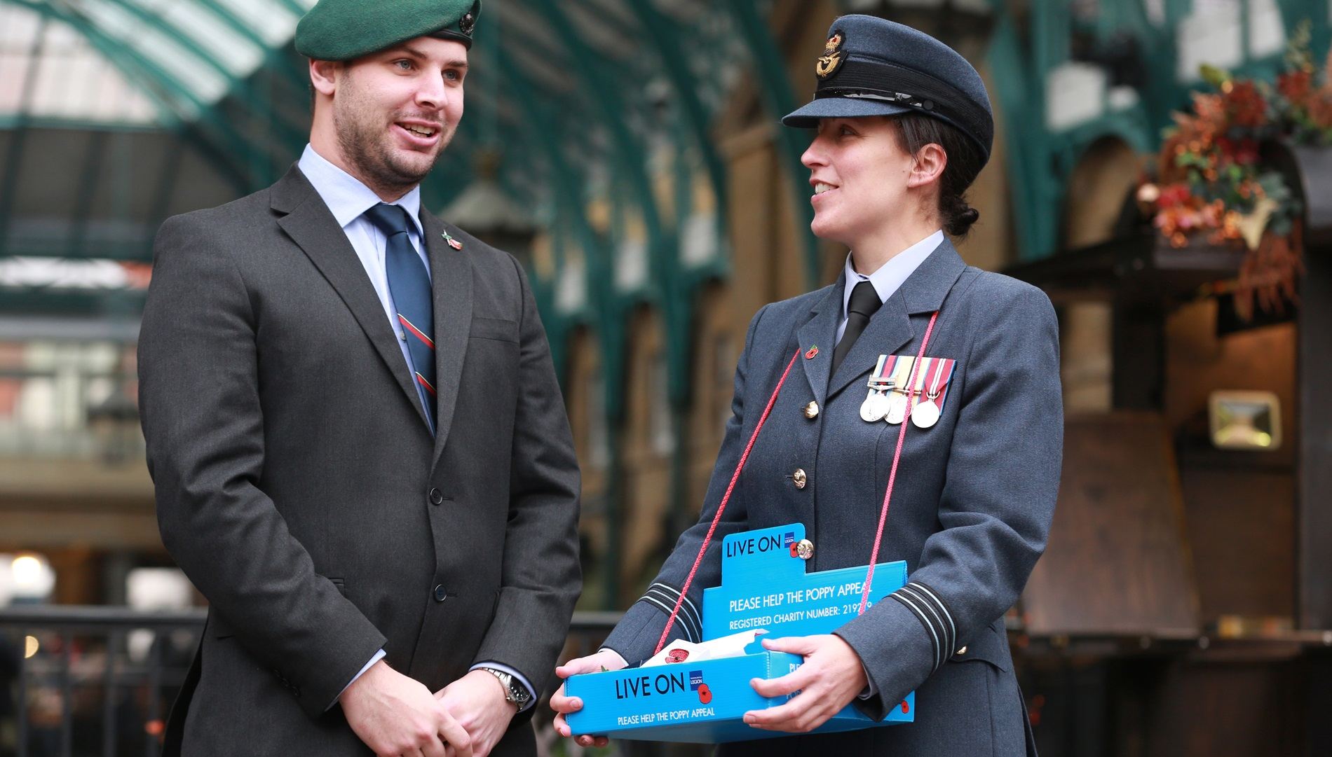 Veteran Nick Fleming on London Poppy Day