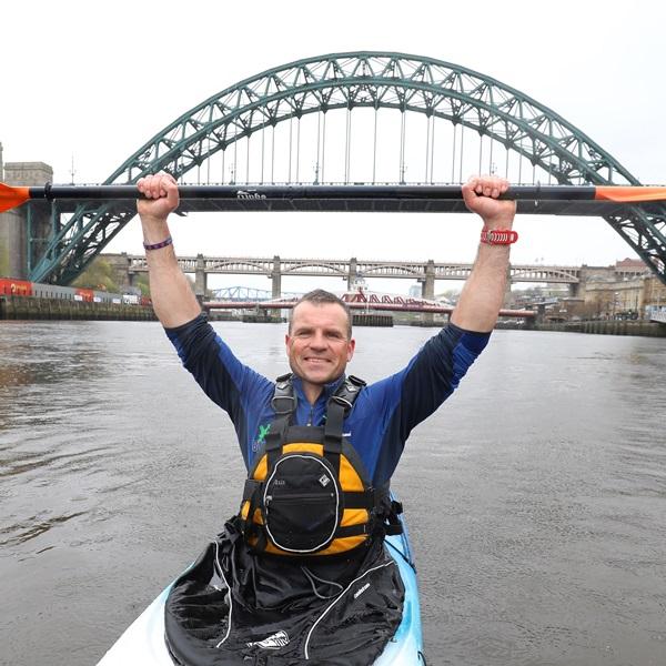 Veteran Dan Smith Paddle of Britain