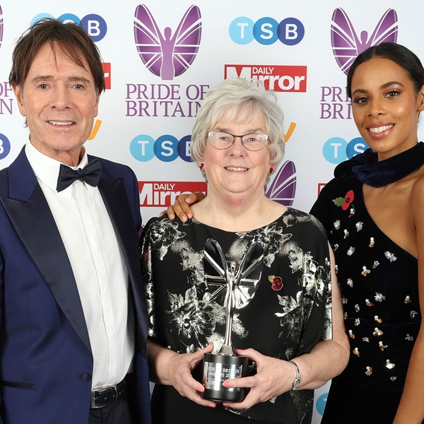Margaret Wadsworth named ITV Fundraiser of the Year 2018