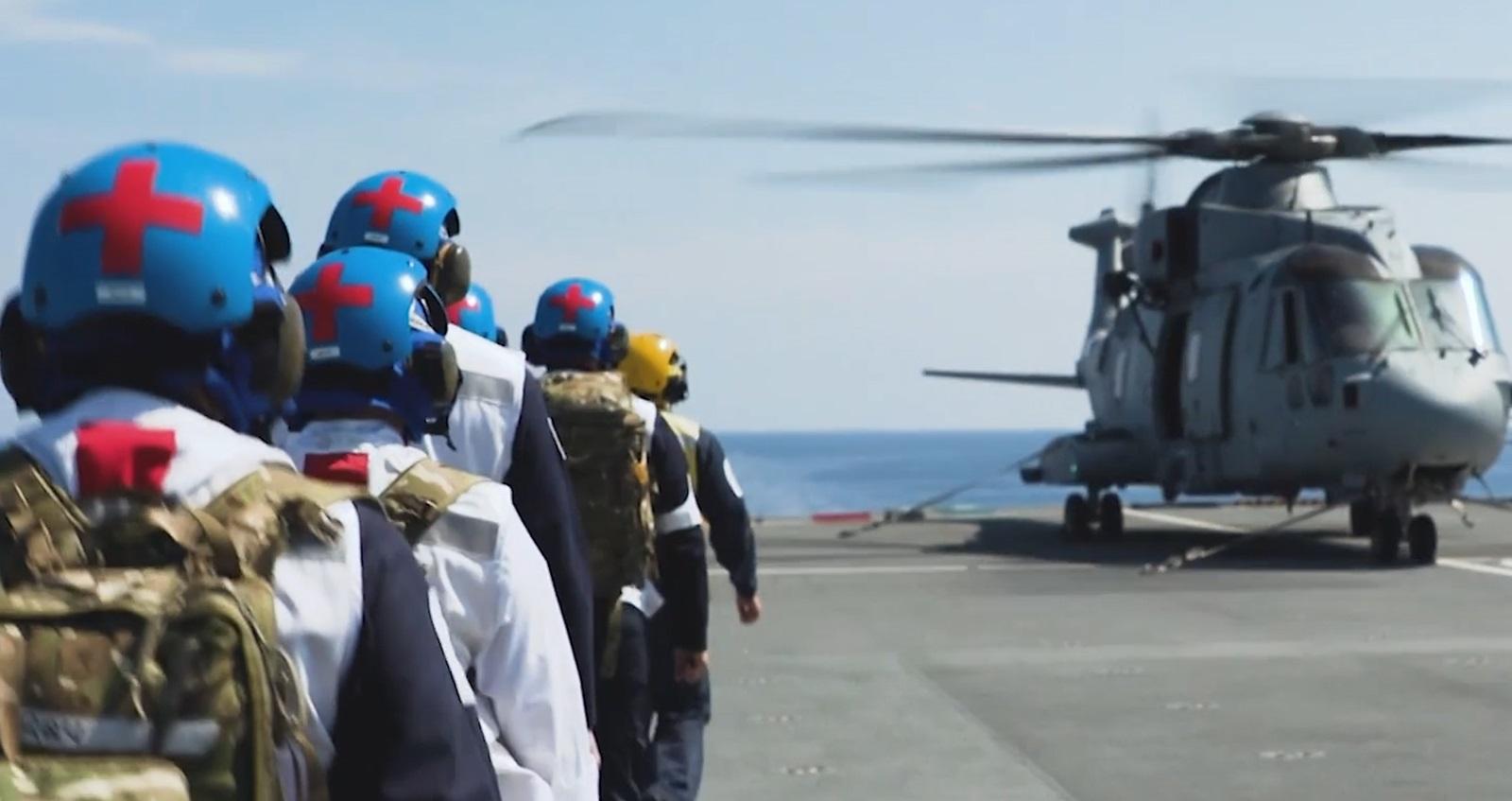 Navy medics