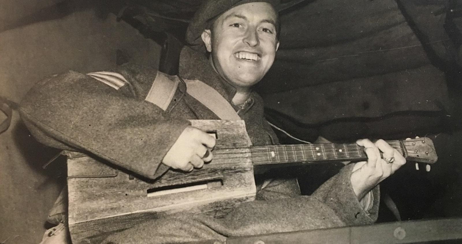 Tom Boardman on his return the UK after being held as a prisoner of war