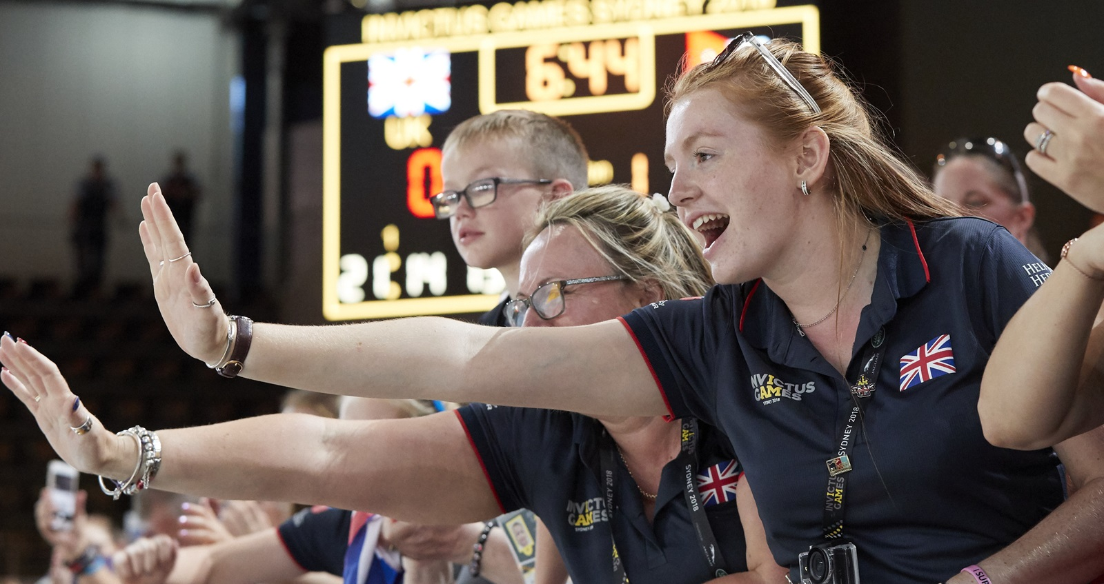 White family at Invictus Games