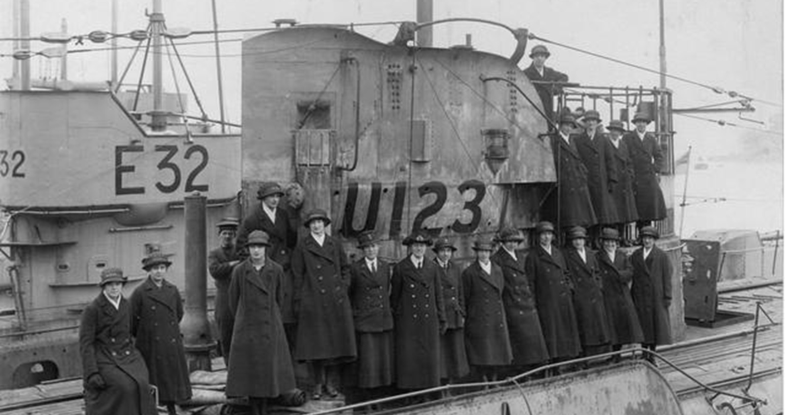 Wrens at HMS Dolphin 1919