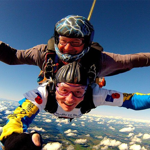 Skydiving for The Royal British Legion