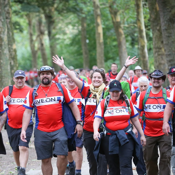 Western Front Trek past participants