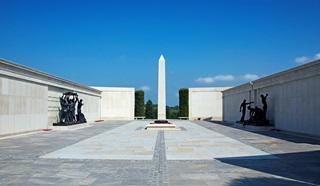 A memorial at the National Memorial Arboretum