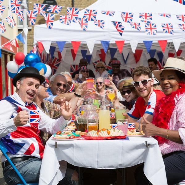 Poppy Lottery street party